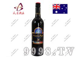 澳洲玛琳娜波尔哈瓦曼奇2009干红葡萄酒