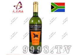 开普大象天然芳香白葡萄酒