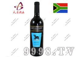 开普大象天然芳香红葡萄酒