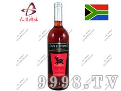 开普大象天然芳香桃红葡萄酒