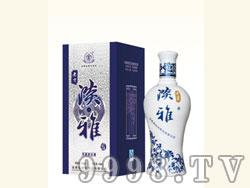 老贡酒蓝淡雅酒