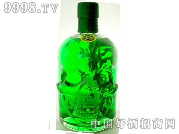 绿魔骷髅头苦艾酒