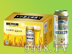 众成酒业小麦王啤酒500ML