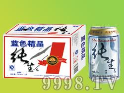 众成酒业蓝色精品纯生啤酒