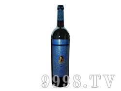 小戎子蓝标干红葡萄酒2009
