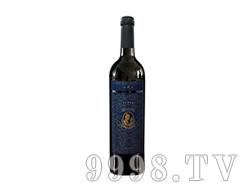 小戎子蓝标干红葡萄酒2010