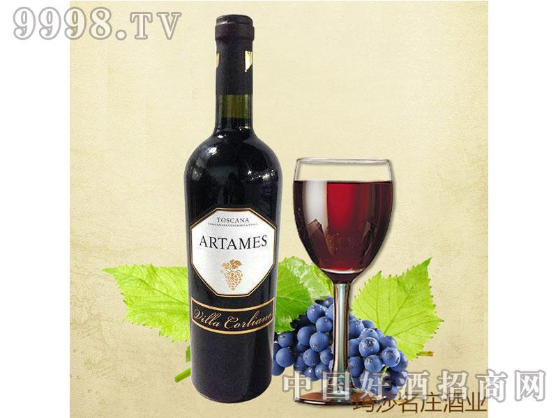 意大利进口葡萄酒埃特梅斯干红2011