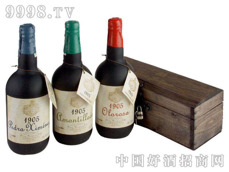 1905年的限量版珍藏雪莉酒