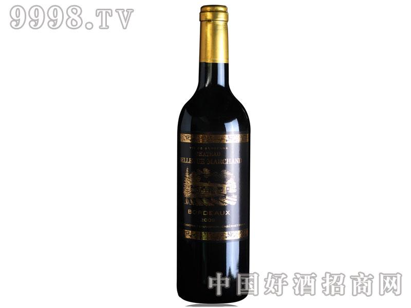 法国波尔多红酒美尚城堡AOC干红