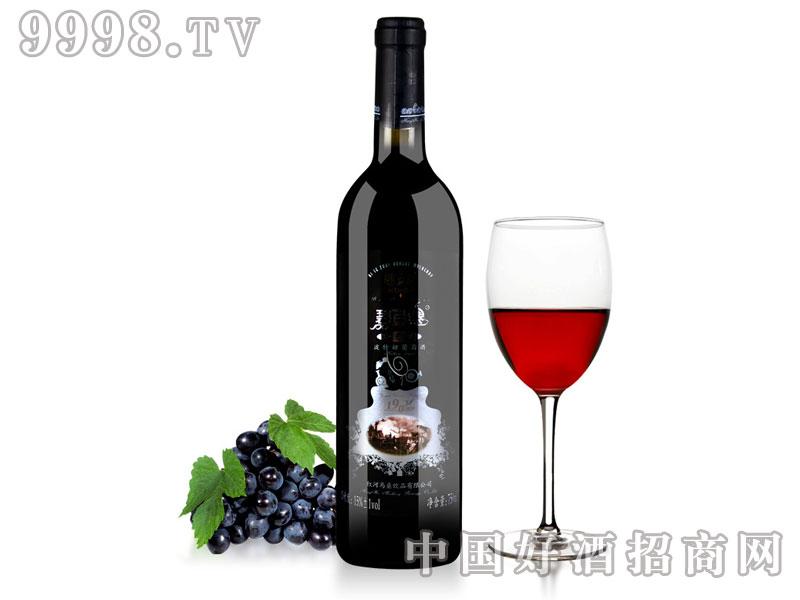 云南红河碧色寨玫瑰蜜全汁甜红葡萄酒
