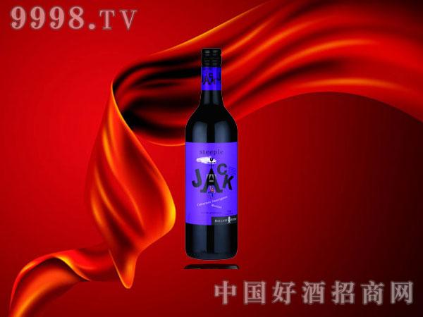 碎石杰克赤霞珠美乐红葡萄酒