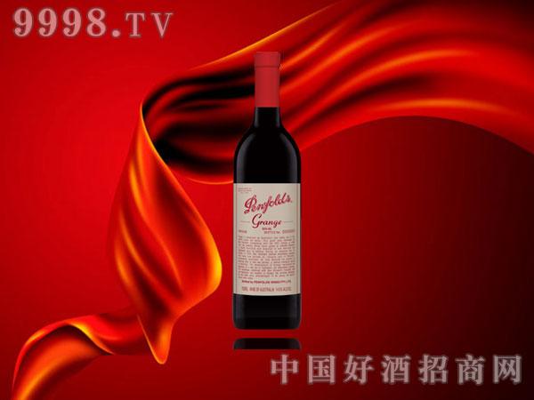 奔富葛兰许红葡萄酒