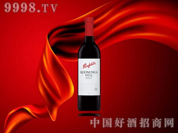 奔富蔻兰山设拉子红葡萄酒