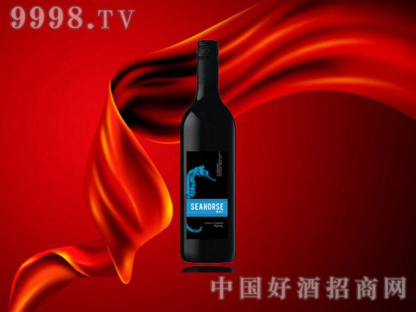 海马湾蓝标红葡萄酒