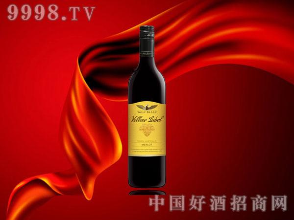 禾富黄牌美乐红葡萄酒