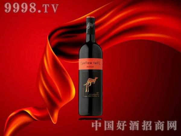 黄尾袋鼠美乐红葡萄酒