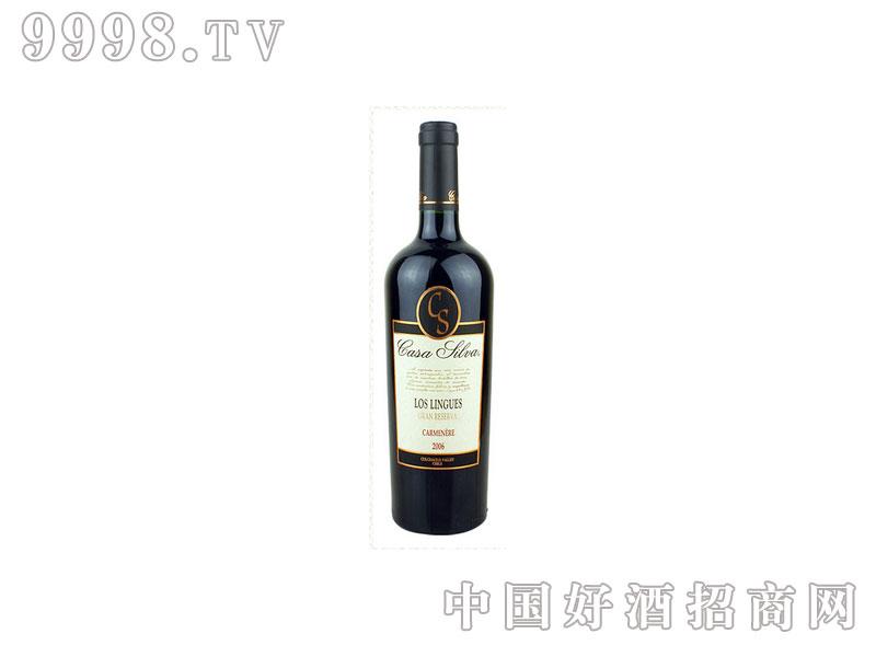 智利白银庄特酿卡曼纳葡萄酒