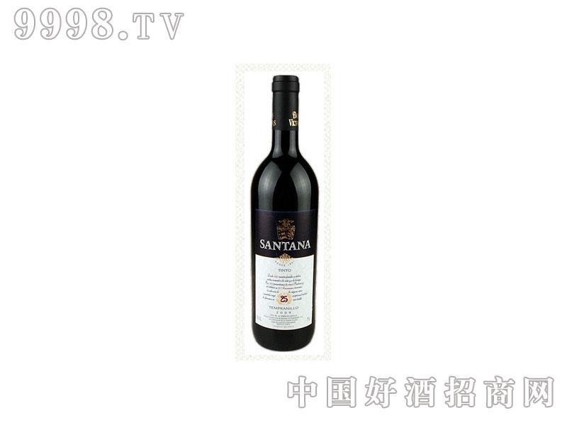 西班牙桑塔纳干红葡萄酒