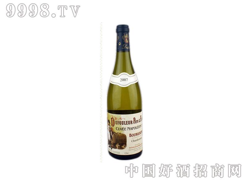 法国拿破仑头等窖藏霞多丽葡萄酒