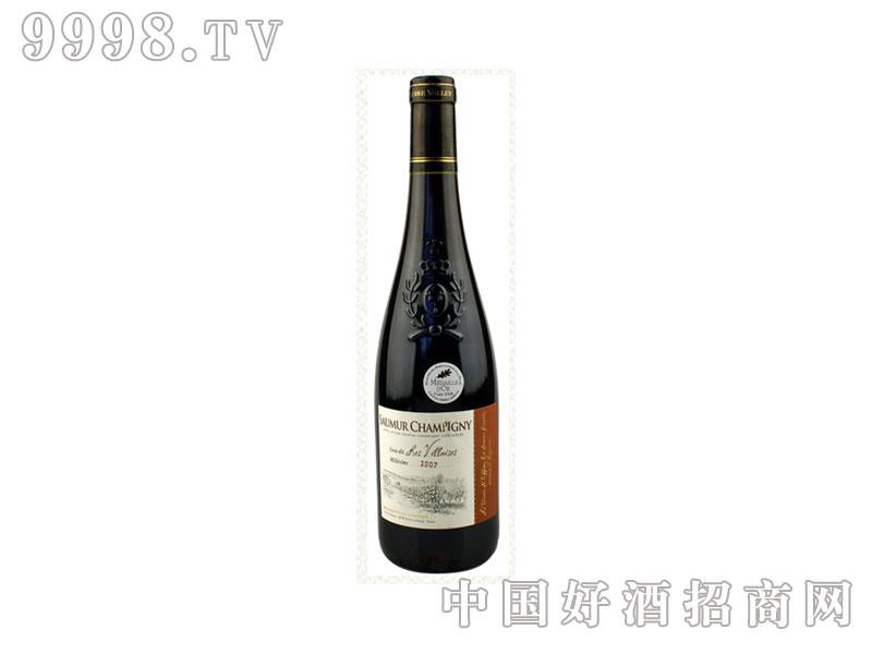 法国索米尔香皮尼特酿干红葡萄酒