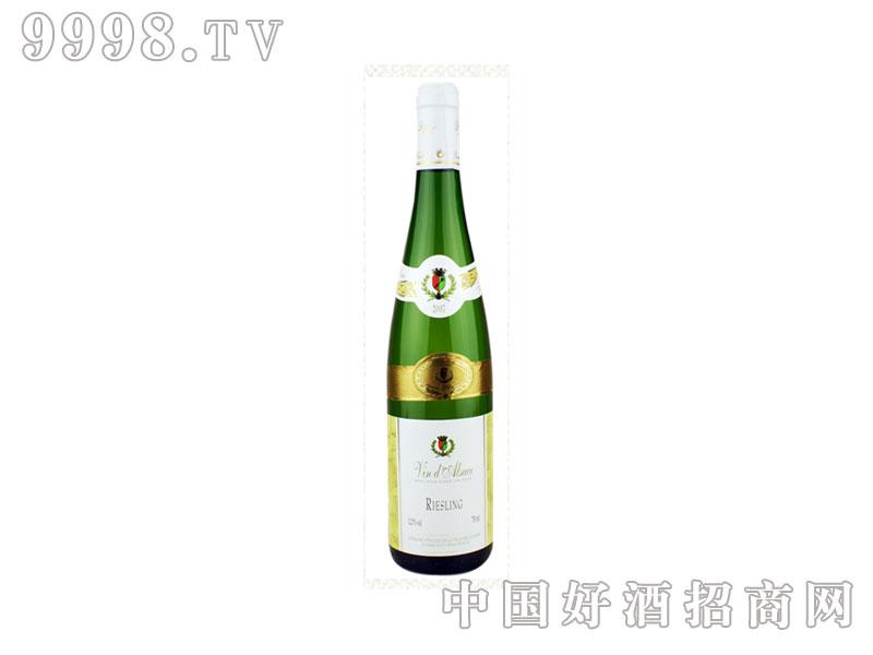 法国维笛歌庄园雷司令干白葡萄酒