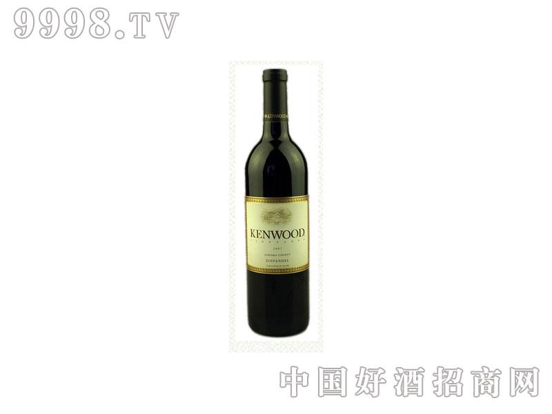 美国金舞庄索诺玛金粉黛干红葡萄酒
