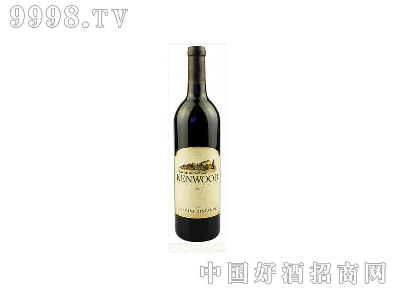 美国金舞庄雅鲁谷老藤金粉黛葡萄酒
