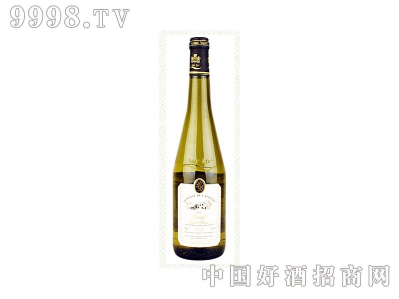 法国艾河园蜜思卡黛苏黎干白葡萄酒