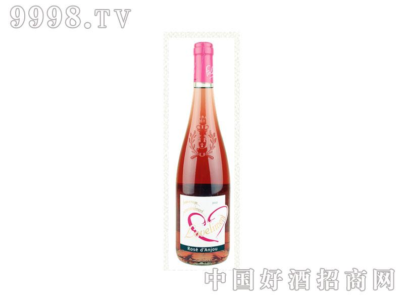 法国爱慕安茹玫瑰蜜桃红葡萄酒