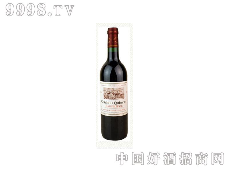 法国甘杯庄园波尔多干红葡萄酒
