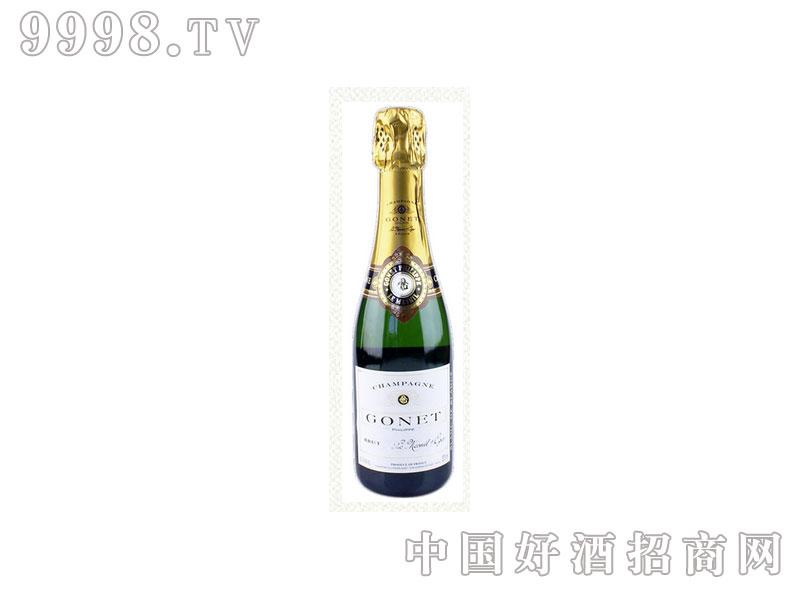 法国歌娜香槟(白中白)葡萄酒