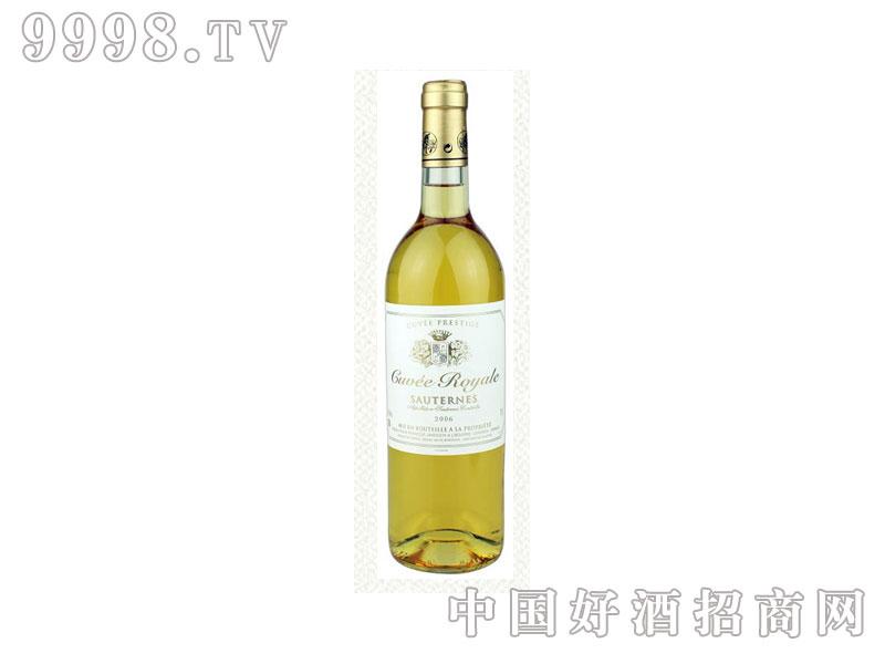 法国皇家窖藏苏岱甜白葡萄酒