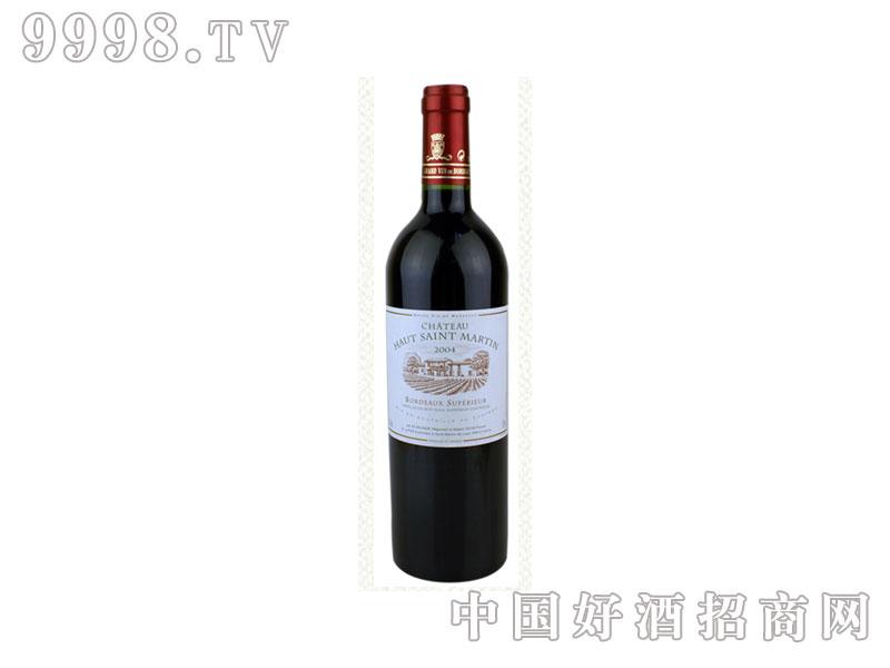 法国马丁庄园超级波尔多干红葡萄酒