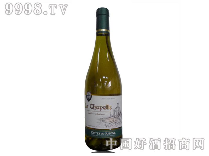 法国小圣堂特酿干白葡萄酒