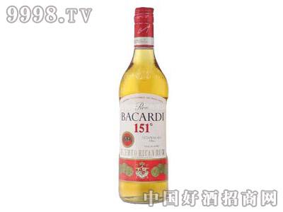 百家得151朗姆酒