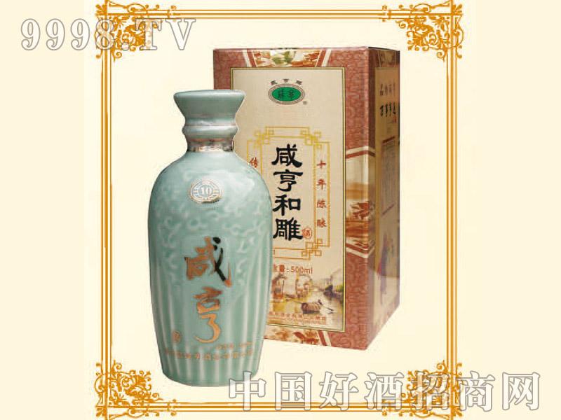 500ml 6咸亨和雕酒10年陈酿