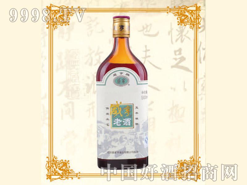 500ml 12咸亨老酒5年陈酿