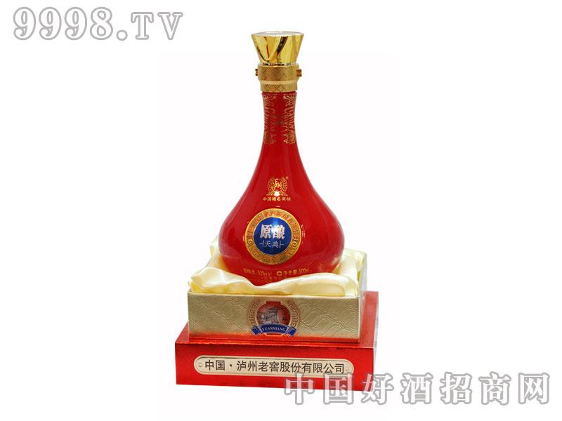 泸州老窖原酿双透-红瓷窖藏