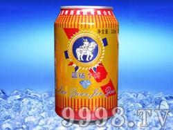 美国蓝钻金樽啤酒330ML易拉罐