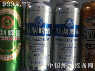 特制罐装啤酒