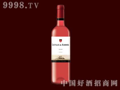阿尔曼萨城堡玫瑰红葡萄酒