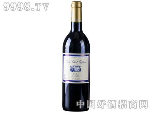 法国红酒百藤红葡萄酒