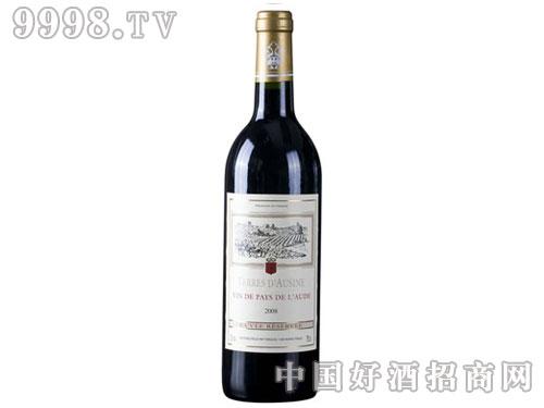法国红酒奥吉纳红葡萄酒