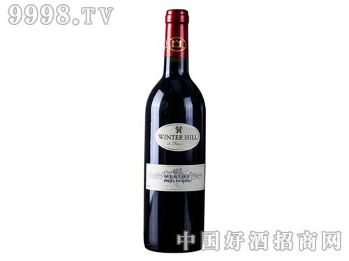 法国葡萄酒维特山珍藏级西拉兹红葡萄酒