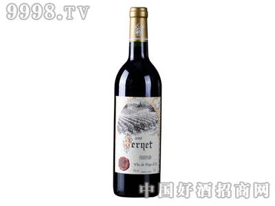 法国韦尔纳红葡萄酒
