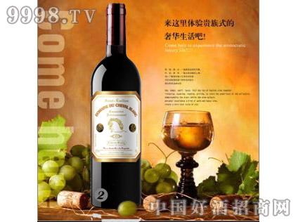 白马酒庄2010家族牌珍藏干红