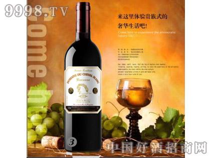 白马酒庄2010家族牌男爵干红
