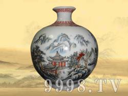 私人定制收藏酒10斤(釉上手绘五彩)