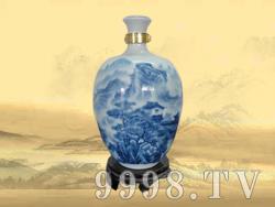 私人定制收藏酒10斤(青花山水瓶)