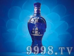 国花凤瓷光瓶(蓝钻)